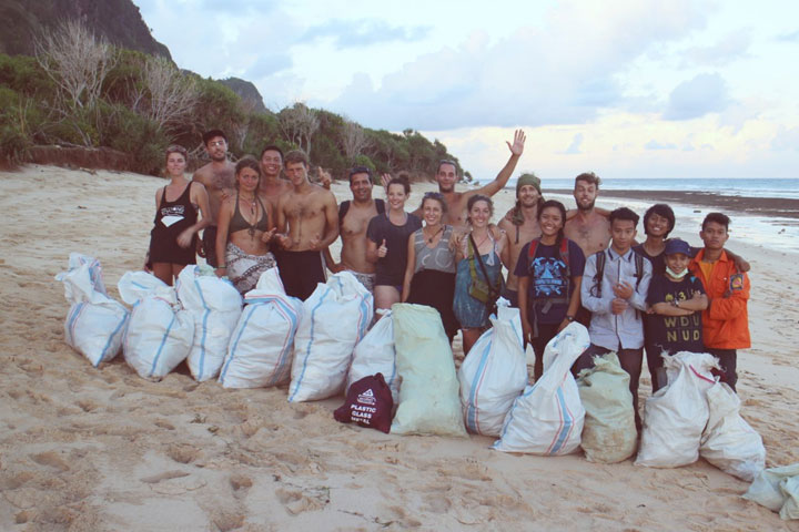 Beach Clean-up Indonesien | BIRU BIRU